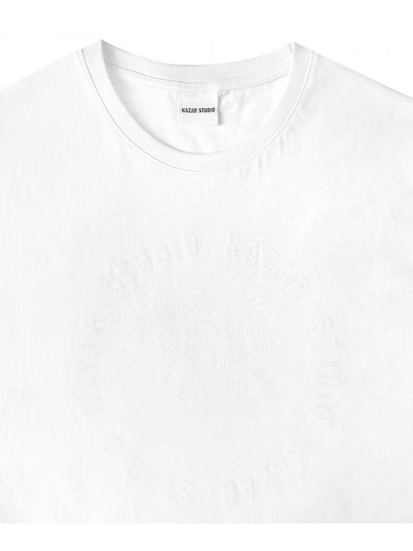 Biały t-shirt męski