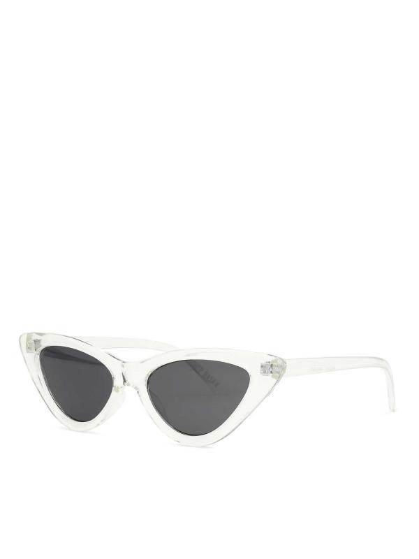 Bezbarwne okulary przeciwsłoneczne