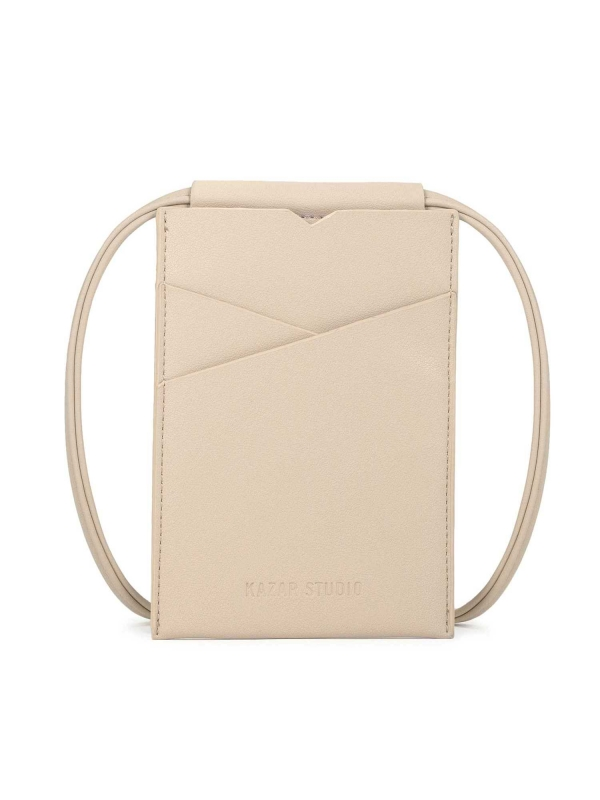 Beżowa torebka na telefon HALA