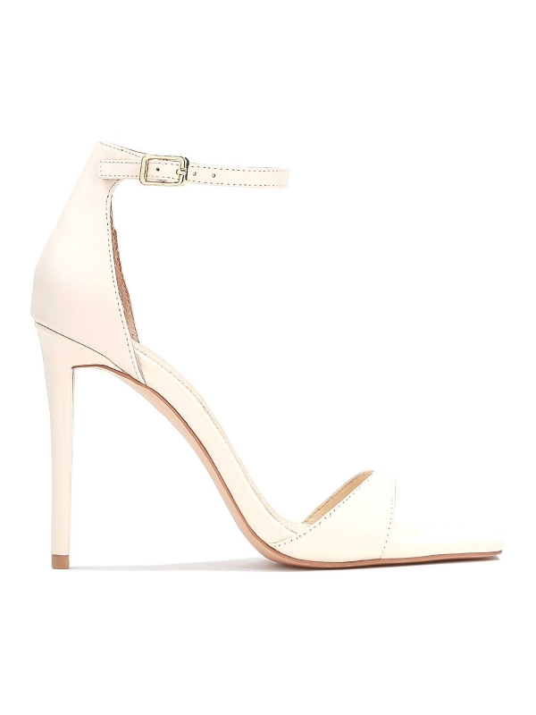 Beżowe sandały damskie ZELDA
