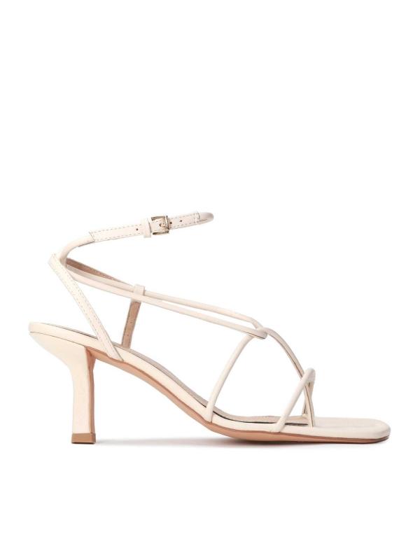 Beżowe sandały damskie JIMENA