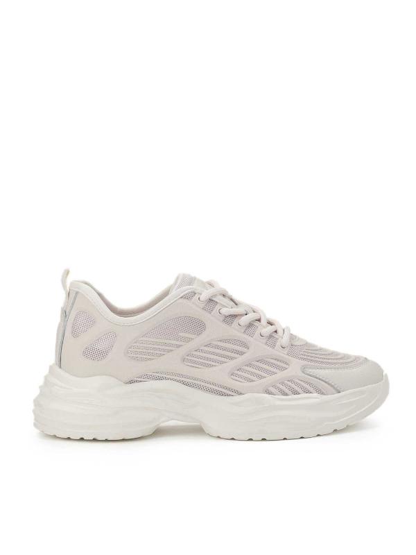 Beżowe sneakersy damskie TERRA