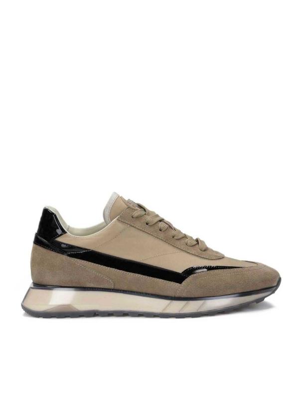 Beżowe sneakersy męskie BRADLY