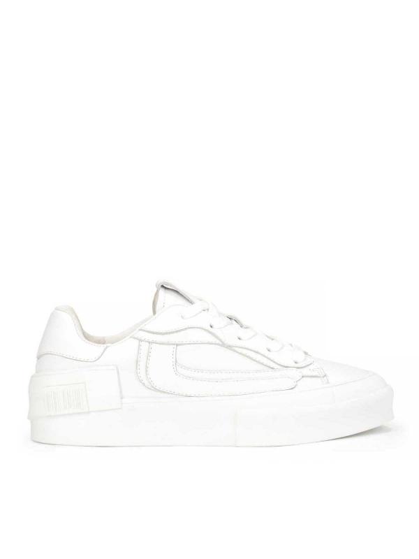 Białe sneakersy damskie DIANNA
