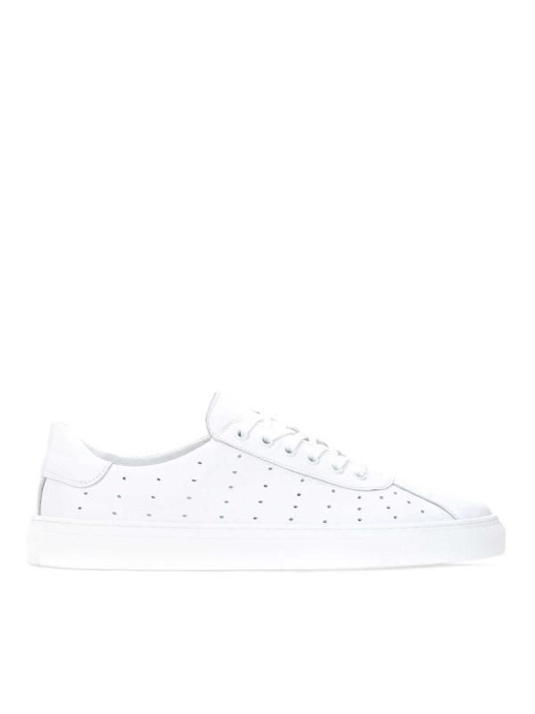 Białe sneakersy męskie JACKY