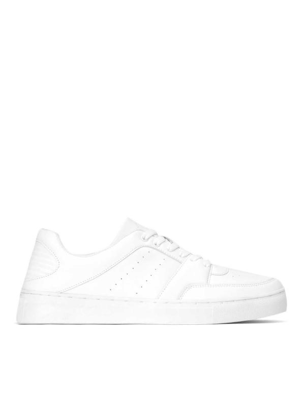 Białe sneakersy męskie SFO-LTN KS941