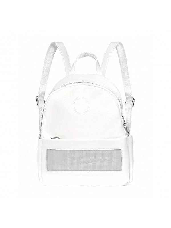 Biały plecak damski z wyświetlaczem LED CHI-FAI KS248