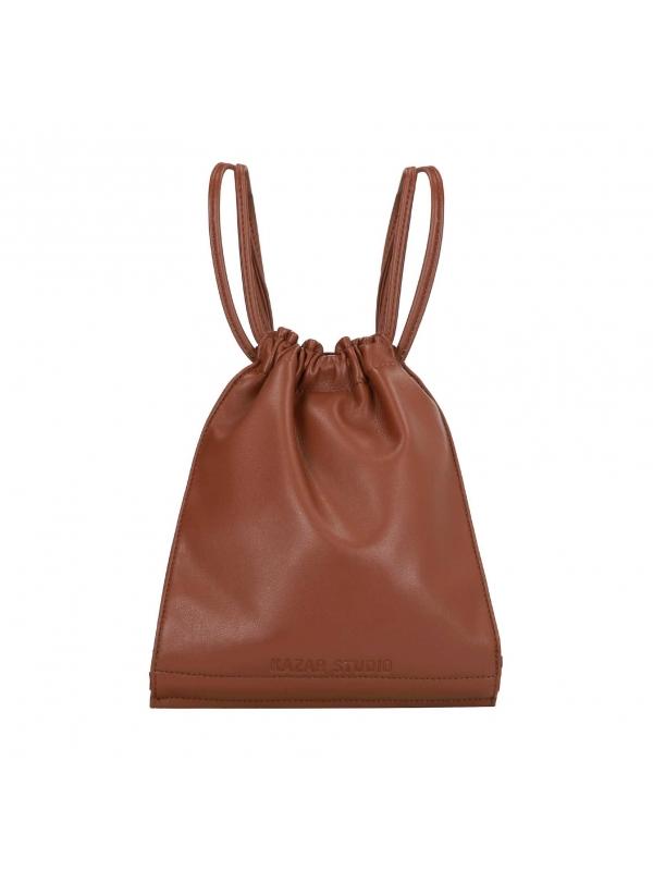 Brązowy plecak damski ANKA