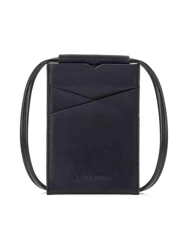 Czarna torebka na telefon HALA