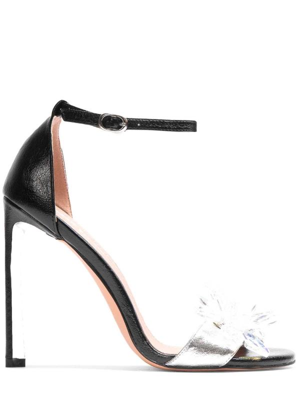 Czarne sandały damskie MIA-PPL KS830