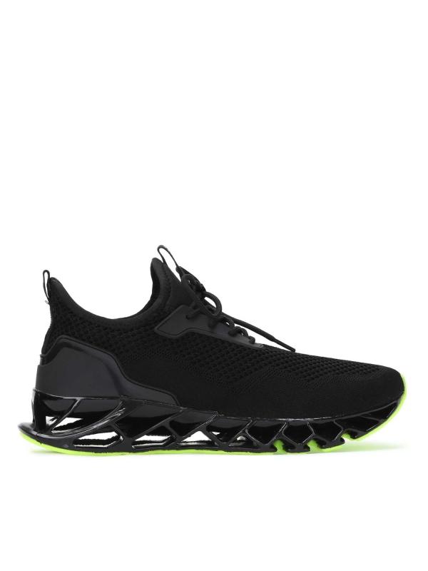 Czarne sneakersy męksie DAYLE