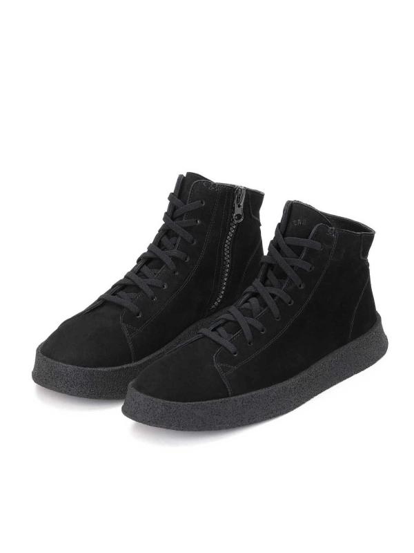 Czarne sneakersy męskie CEDRIC