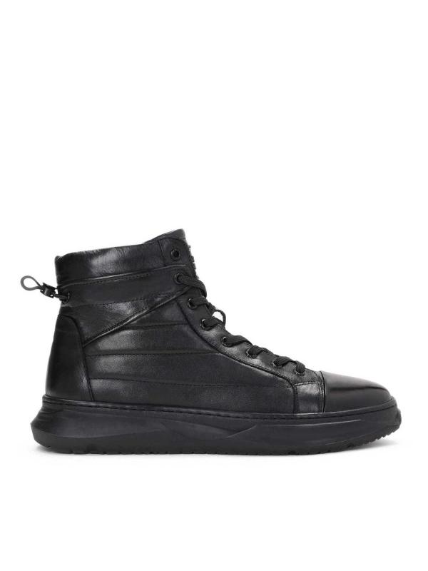 Czarne sneakersy męskie ERYX