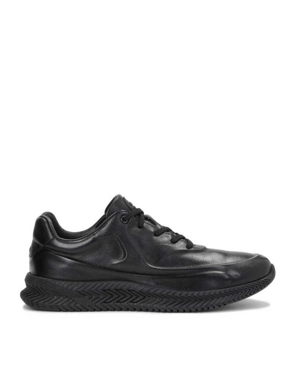 Czarne sneakersy męskie JUSTIN