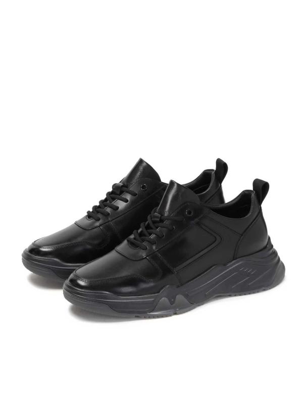Czarne sneakersy męskie EARL