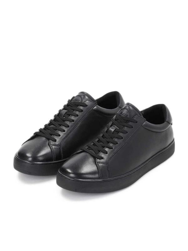 Czarne sneakersy męskie KOEN