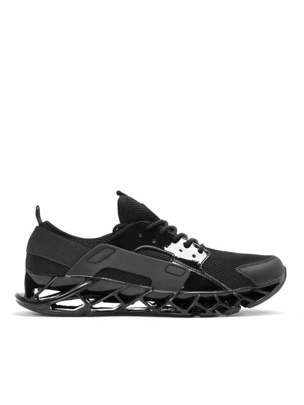 Czarne sneakersy męskie DAYLE