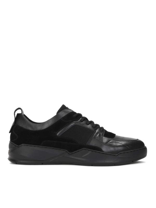 Czarne sneakersy męskie RAMSEY