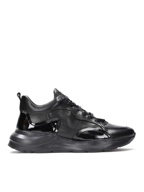 Czarne sneakersy męskie STANFORD