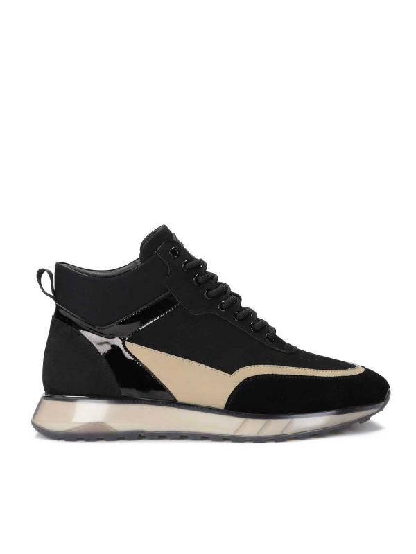 Czarne sneakersy męskie BRADLY