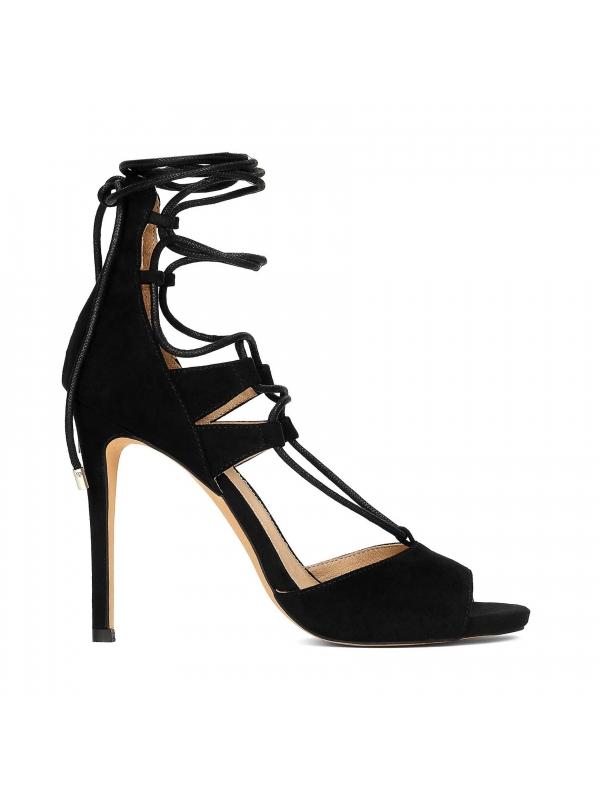 Czarne sandały damskie MIA-HAV KS082