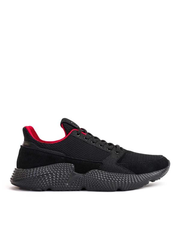 Czarne sneakersy męskie JFK-MDW KS570