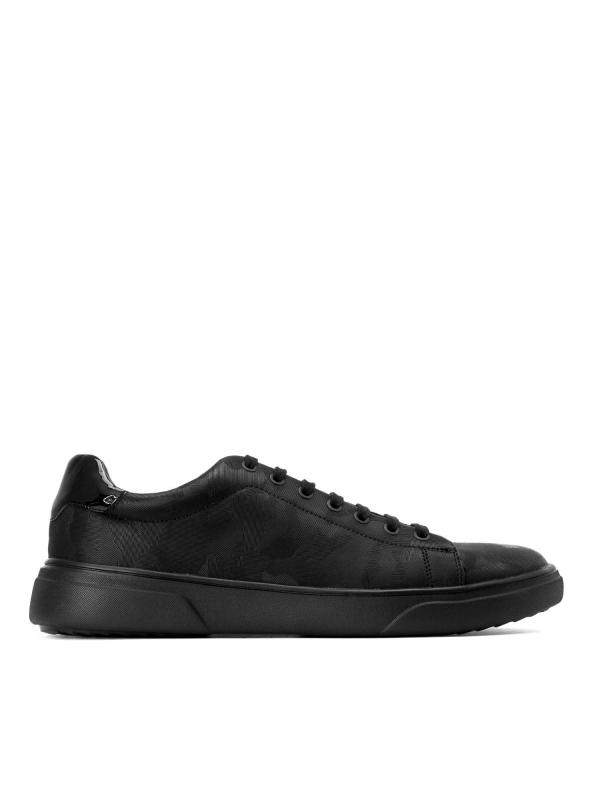 Czarne sneakersy męskie SFO-BEX KS571