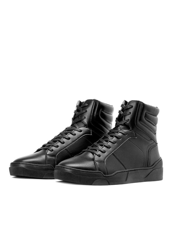 Czarne sneakersy męskie SEA-EAR KS741