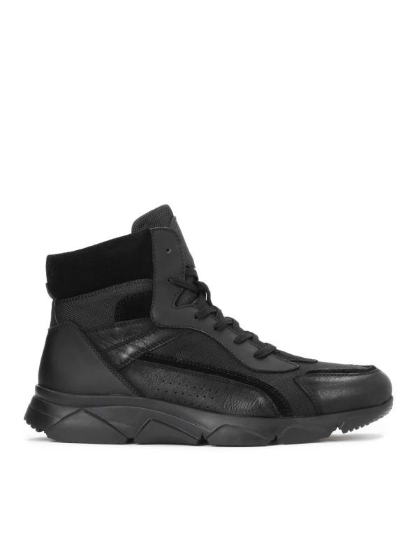 Czarne sneakersy męskie BEN