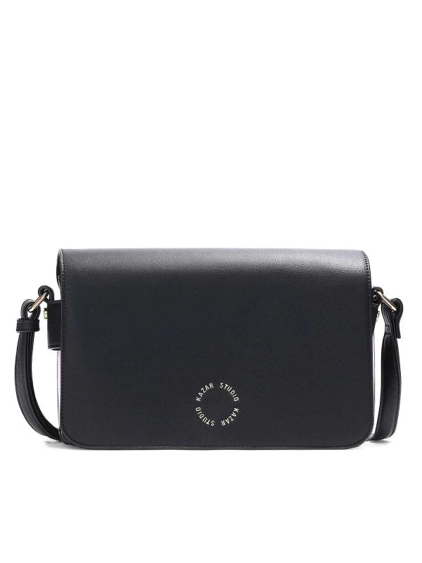 Czarno-różowa torebka damska AMANE