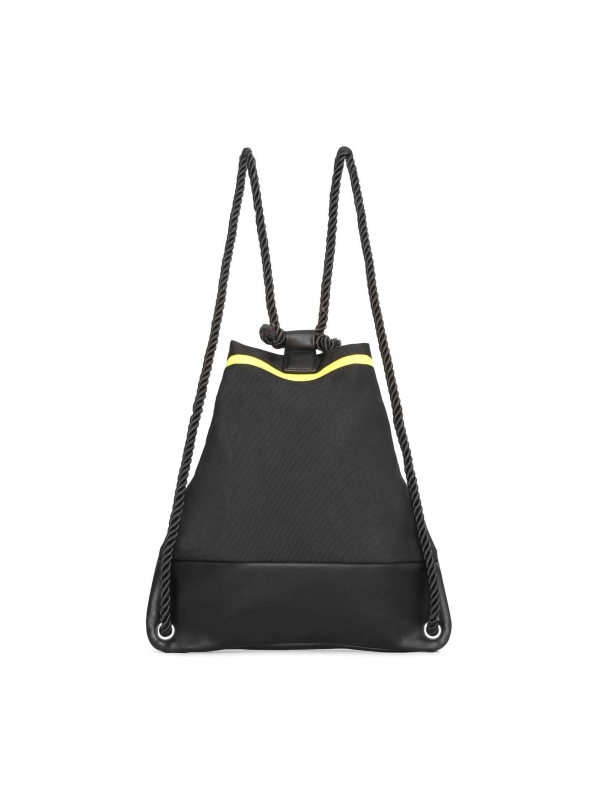 Czarny plecak damski  CHI-MNI KS 474