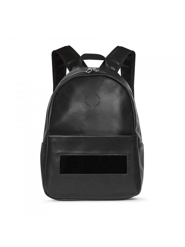 Czarny plecak damski z wyświetlaczem LED CHI-BUR KS247