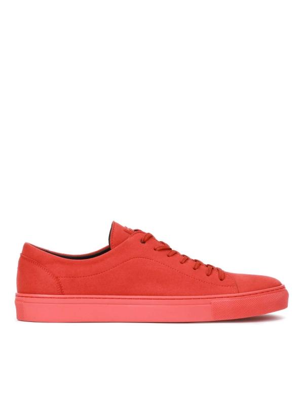 Czerwone sneakersy męskie JACKY