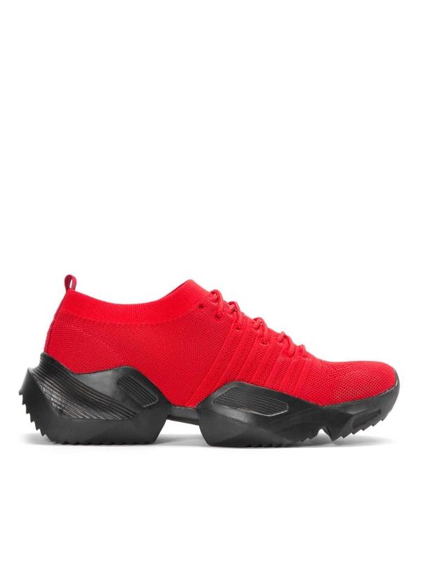 Czerwone sneakersy męskie JFK-MLO KS546