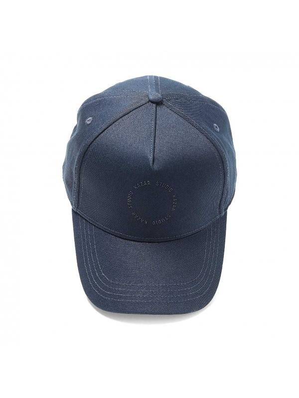 Granatowa czapka z daszkiem
