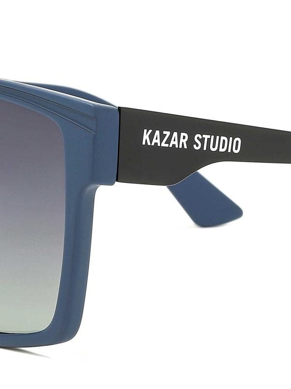 Granatowe okulary przeciwsłoneczne