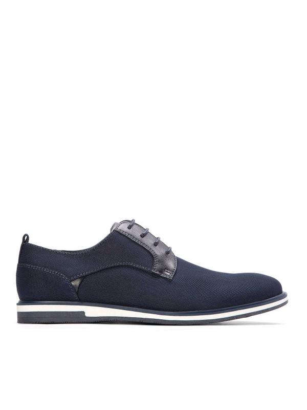 Granatowe półbuty męskie NCE-WMR KS 518