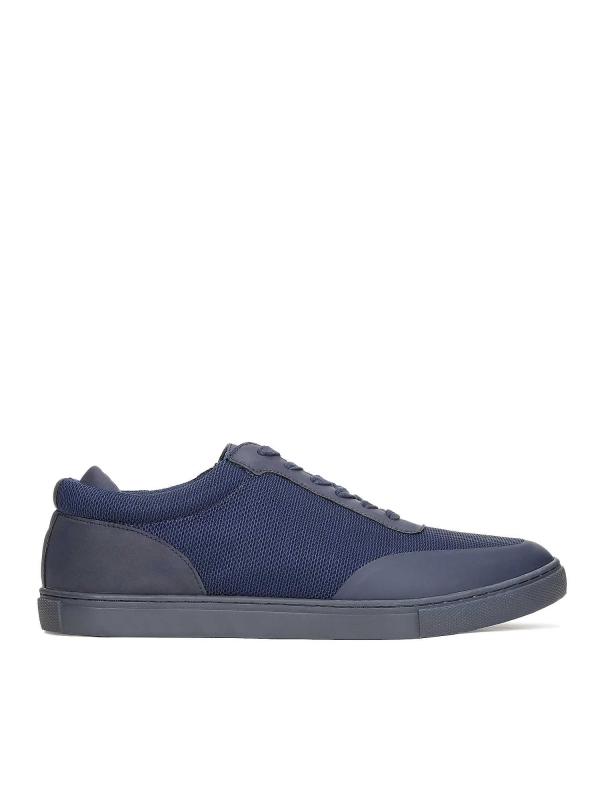 Granatowe sneakersy męskie SFO-IST KS665