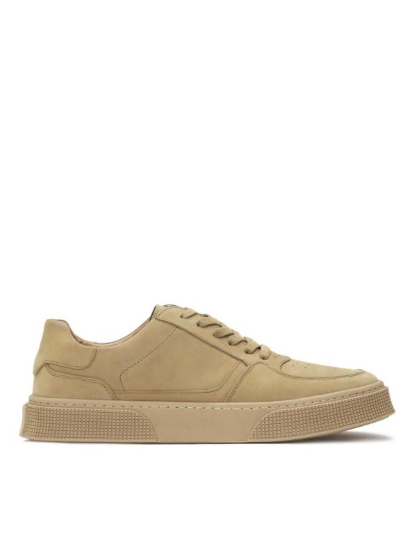 Khaki sneakersy męskie THERON
