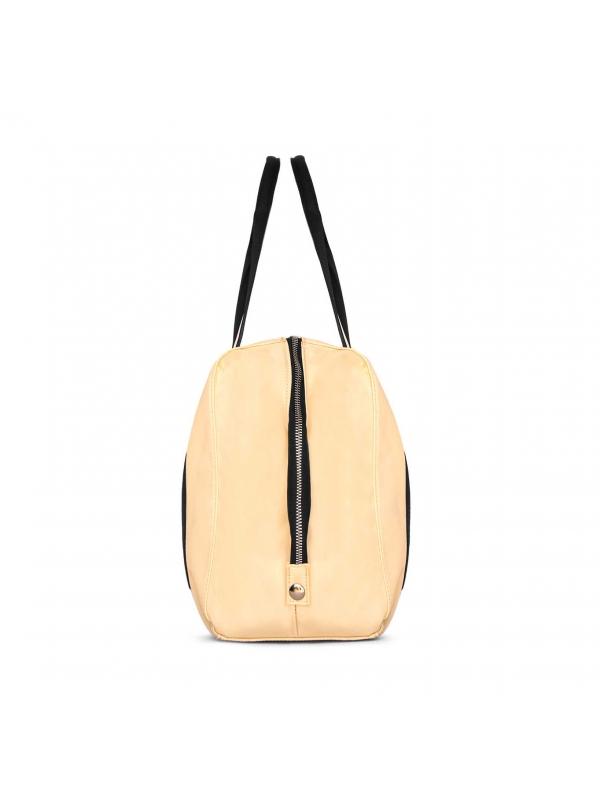 Kremowa torba damska  AJA-JER KS 461