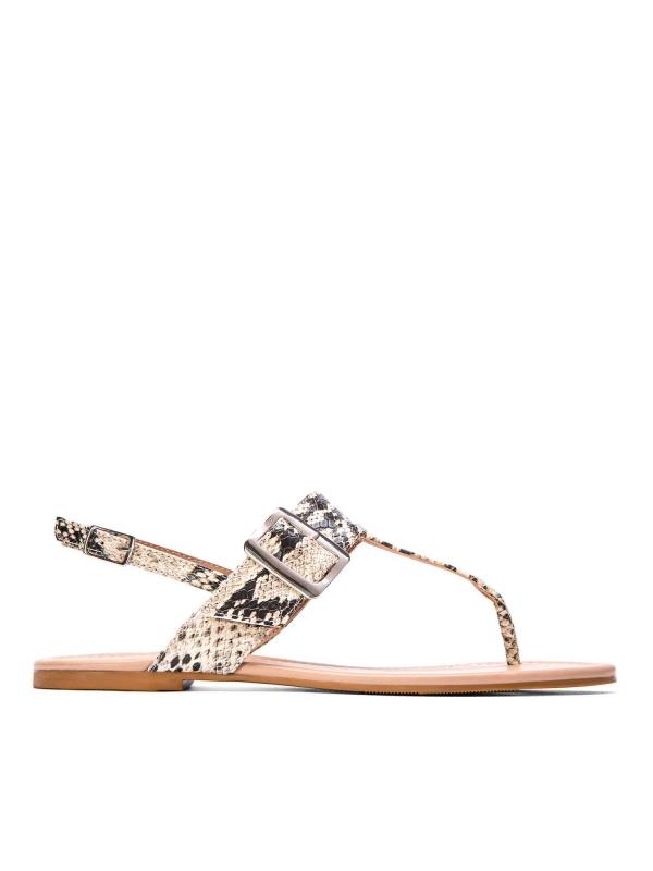 Multikolorowe sandały damskie  MIA-MWE KS496