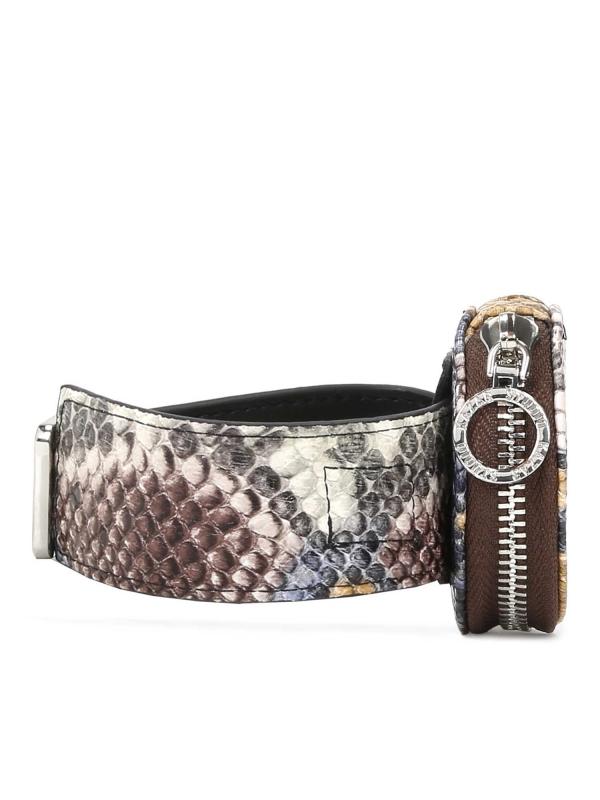Multikolorowy portfel damski