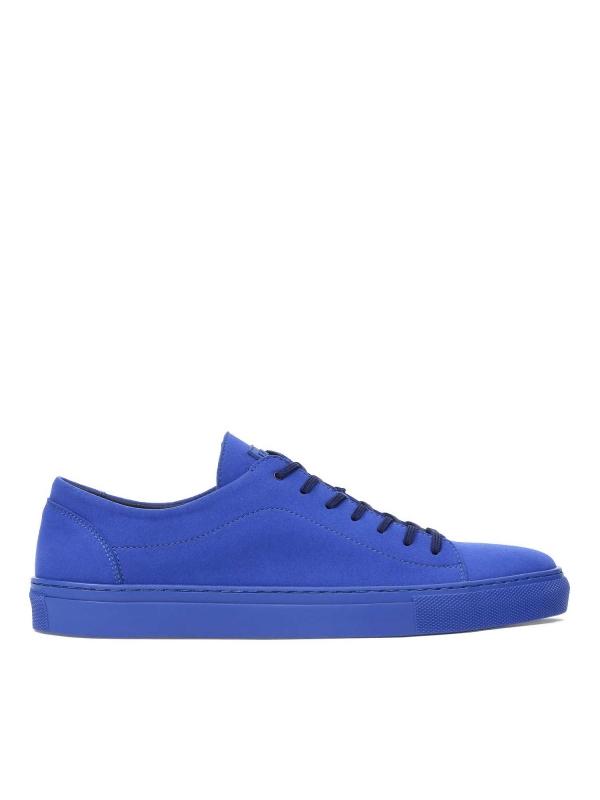 Niebieskie sneakersy męskie JACKY