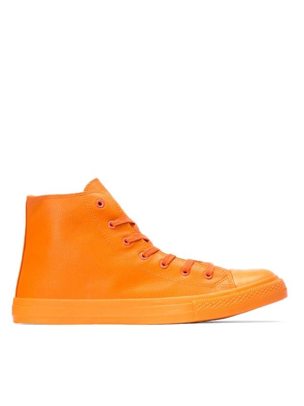 Pomarańczowe sneakersy męskie SEA-BNA KS590