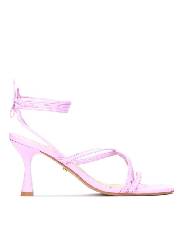 Różowe sandały damskie MALVA