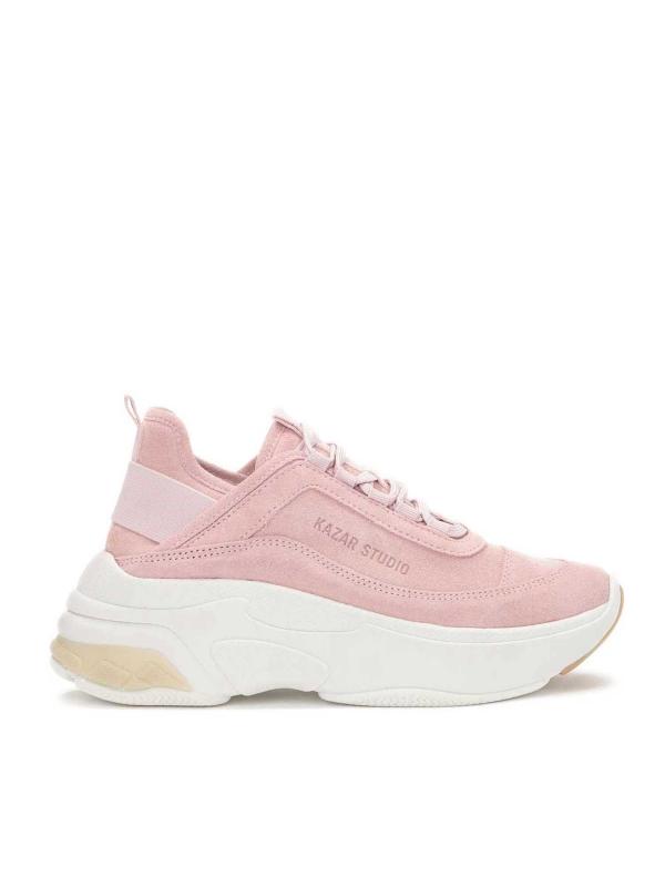 Różowe sneakersy damskie MACIE