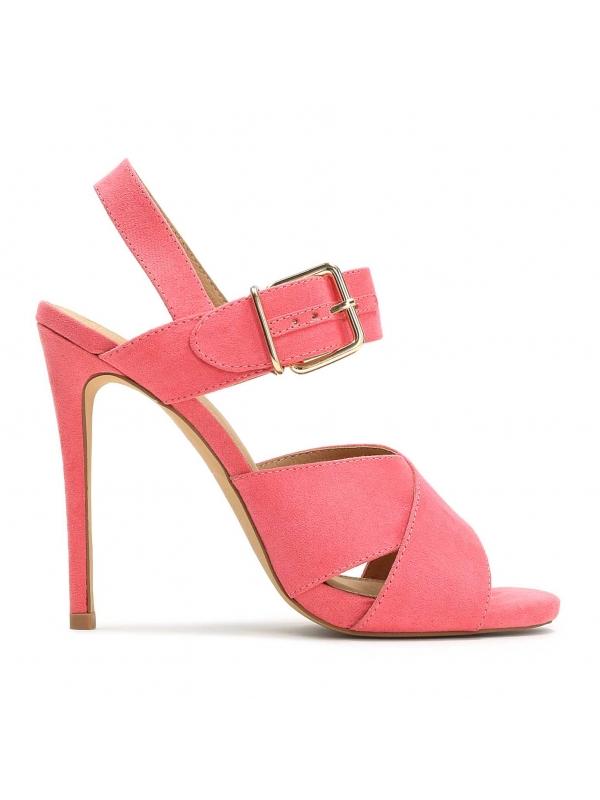 Różowe sandały damskie MIA-ODS KS048