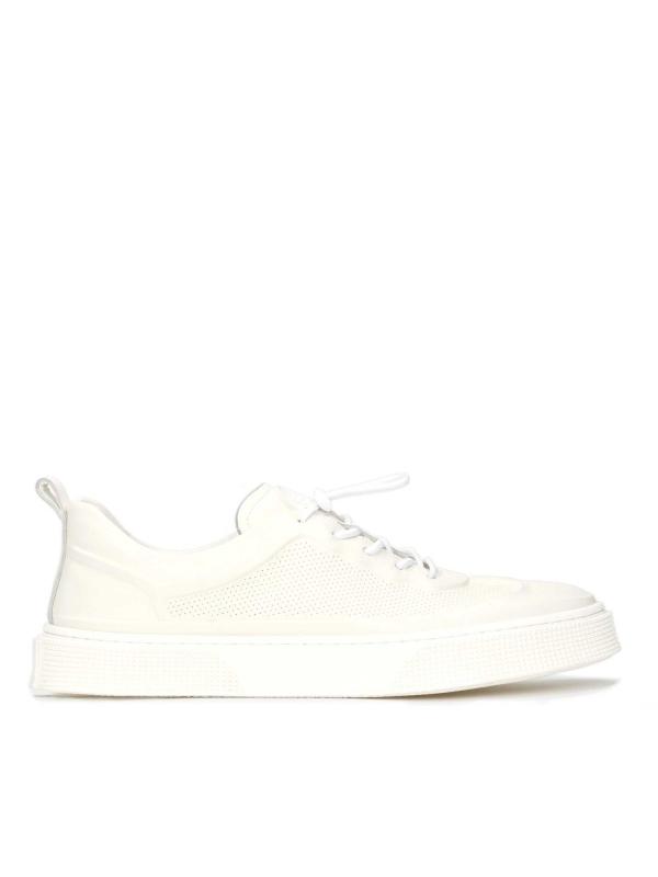 Sneakersy męskie w kolorze złamanej bieli THERON