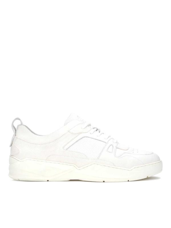 Sneakersy męskie w kolorze złamanej bieli RAMSEY