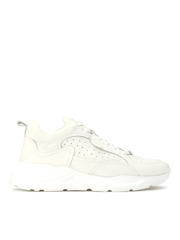 Sneakersy męskie w kolorze złamanej bieli STANFORD